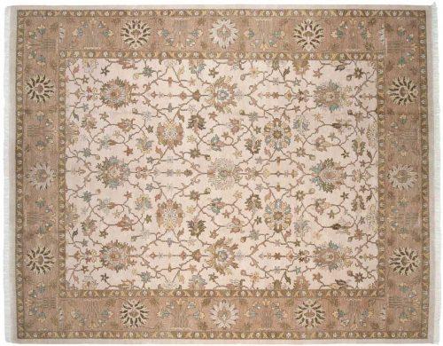 12×15 Agra Beige Oriental Large Rug 045471
