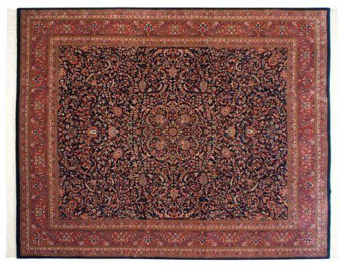 12×15 Kashan Blue Oriental Large Rug 031598