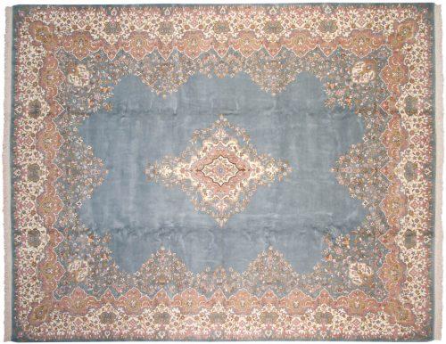 12×15 Kerman Blue Oriental Large Rug 015260