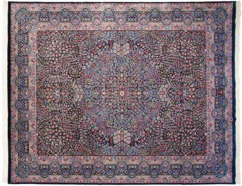 12×15 Kerman Blue Oriental Large Rug 038673