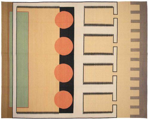 12×15 Nicholls Multi Color Oriental Large Rug 012960