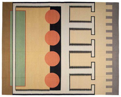12×15 Nicholls Multi Color Oriental Large Rug 012977