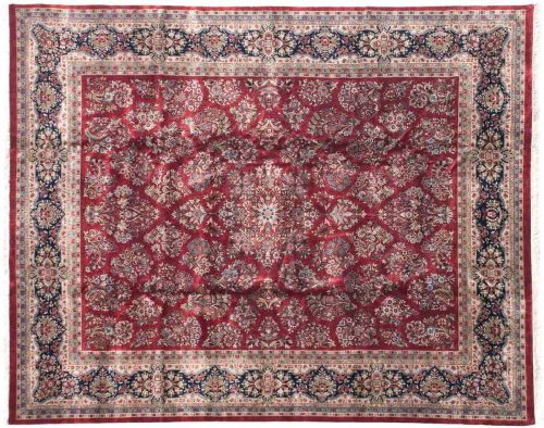 12×15 Sarouk Red Oriental Large Rug 038675