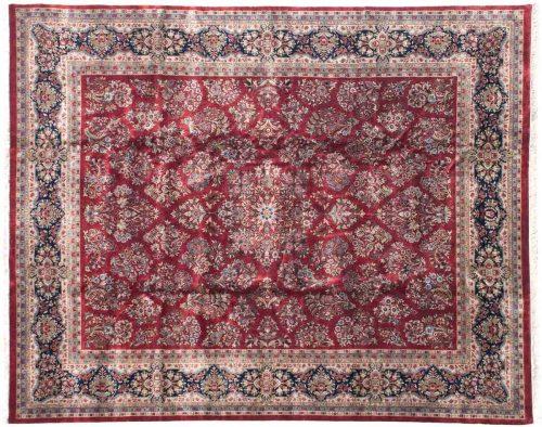 12×15 Sarouk Red Oriental Large Rug 038675