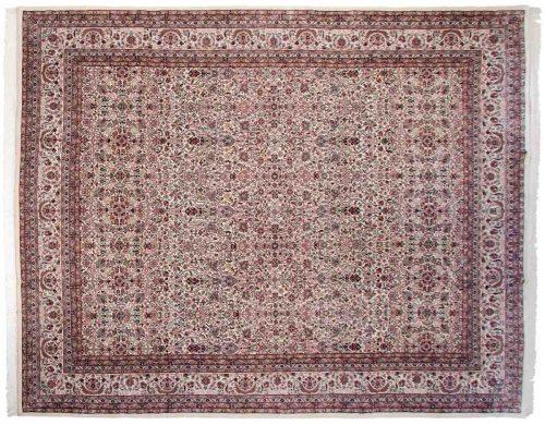 12×15 Tabriz Ivory Oriental Large Rug 036431