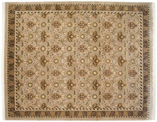 12×15 William Morris Beige Oriental Large Rug 038562