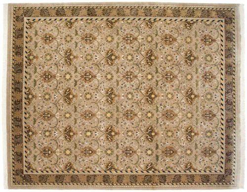 12×15 William Morris Beige Oriental Large Rug 038562