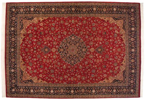 12×17 Persian Red Oriental Large Rug 013723