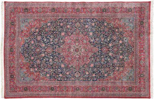 12×18 Kashan Blue Oriental Large Rug 031236
