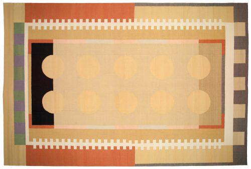 12×18 Nicholls Multi Color Oriental Large Rug 012959
