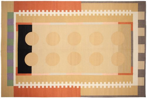 12×18 Nicholls Multi Color Oriental Large Rug 012975