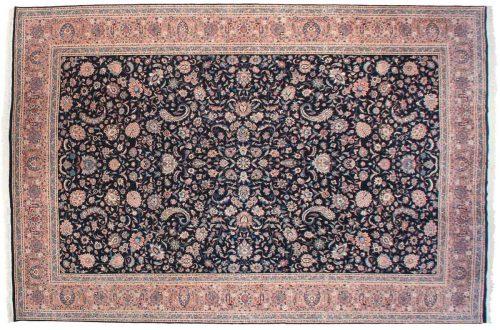 12×18 Persian Black Oriental Large Rug 039760
