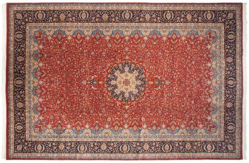 12×18 Persian Red Oriental Large Rug 021511