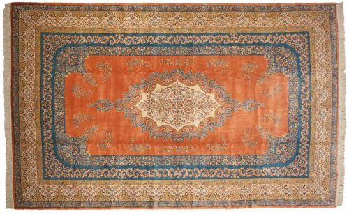 12×19 Bulgarian Rust Oriental Large Rug 021226