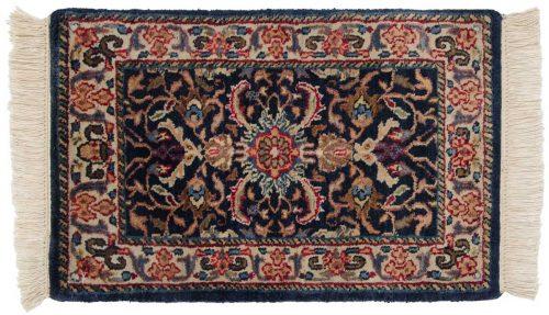1×2 Bijar Blue Oriental Rug 039199