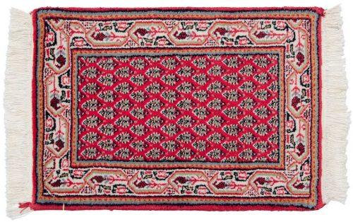 1×2 Persian Rose Oriental Rug 037720
