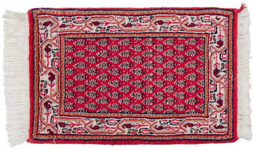 1×2 Persian Rose Oriental Rug 037723