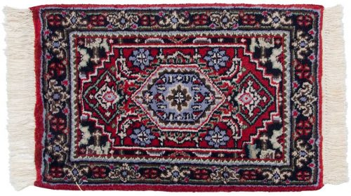 1×2 Bijar Red Oriental Rug 047284