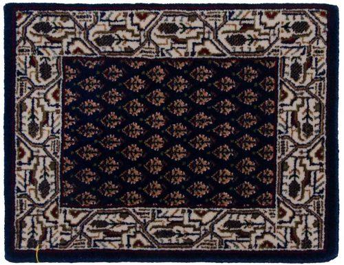 1×2 Sarouk Blue Oriental Rug 045711