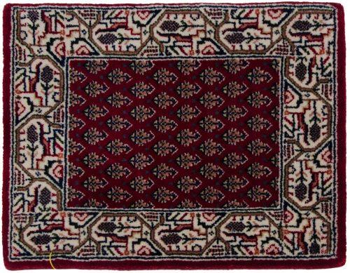 1×2 Sarouk Red Oriental Rug 044010