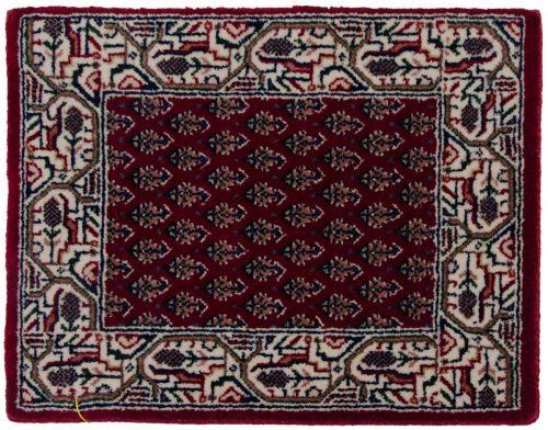 1×2 Sarouk Red Oriental Rug 044043