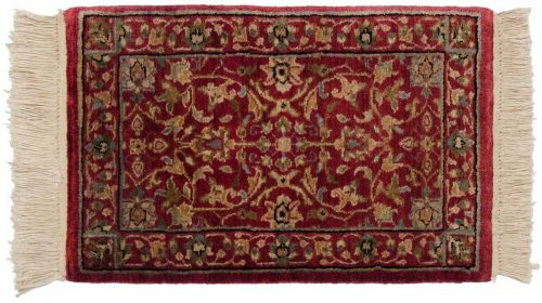 1×2 Tabriz Red Oriental Rug 039194