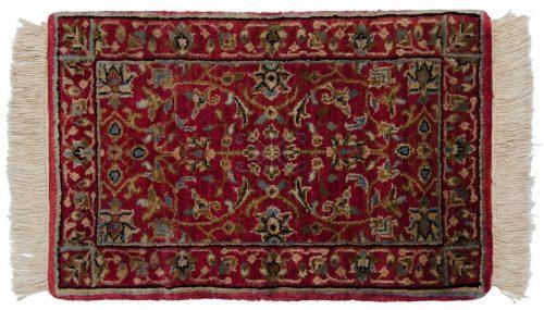 1×2 Tabriz Red Oriental Rug 039195