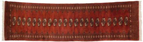 2×10 Bokhara Rust Oriental Rug Runner 027704
