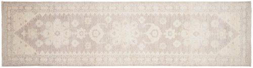 2×10 Chobi Grey Oriental Rug Runner 047632