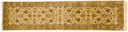 2×10 Tabriz Gold Oriental Rug Runner 021213