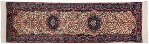 2×10 Kerman Ivory Oriental Rug Runner 019901