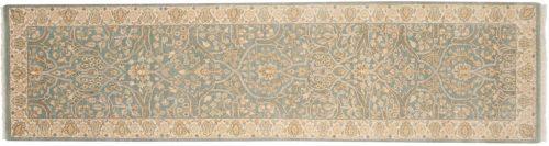 2×10 Tabriz Blue Oriental Rug Runner 043250