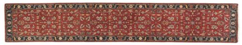 2×12 Heriz Red Oriental Rug Runner 044177