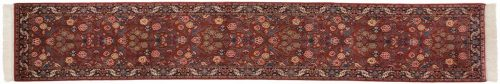 2×12 Kashan Red Oriental Rug Runner 031195