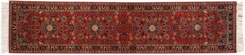 2×12 Kashan Red Oriental Rug Runner 032042