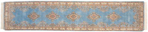 2×12 Kerman Blue Oriental Rug Runner 014974