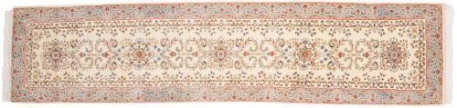 2×12 Kerman Ivory Oriental Rug Runner 015126
