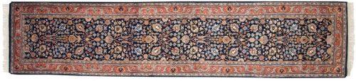 2×12 Tabriz Blue Oriental Rug Runner 015603