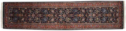 2×12 Tabriz Blue Oriental Rug Runner 015757