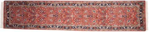 2×12 Tabriz Red Oriental Rug Runner 015441