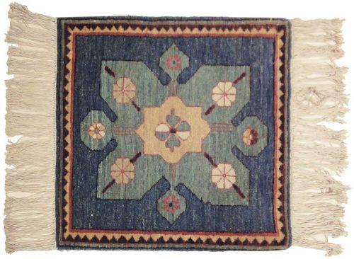 2×2 Karabagh Blue Oriental Square Rug 020395