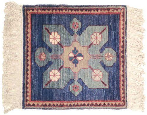 2×2 Karabagh Blue Oriental Square Rug 020426
