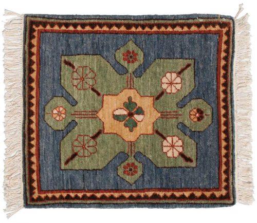 2×2 Karabagh Blue Oriental Square Rug 020571