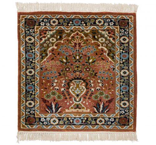 2×2 Kashmir Rose Oriental Rug 022421