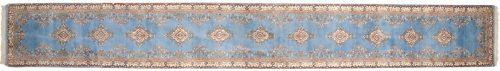 2×21 Kerman Blue Oriental Rug Runner 014928