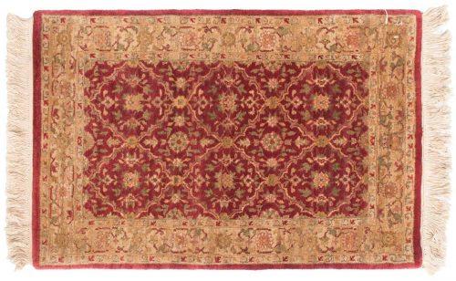 2×3 Agra Burgundy Oriental Rug 039181