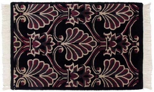 2×3 Arts & Crafts Black Oriental Rug 037155