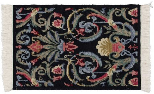 2×3 Arts & Crafts Black Oriental Rug 037414