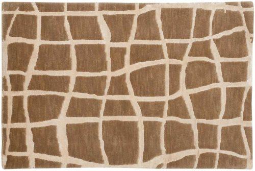2×3 Grid Beige Oriental Rug 045143