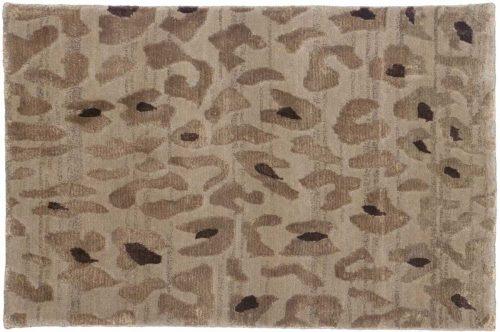 2×3 Leopard Beige Oriental Rug 045157
